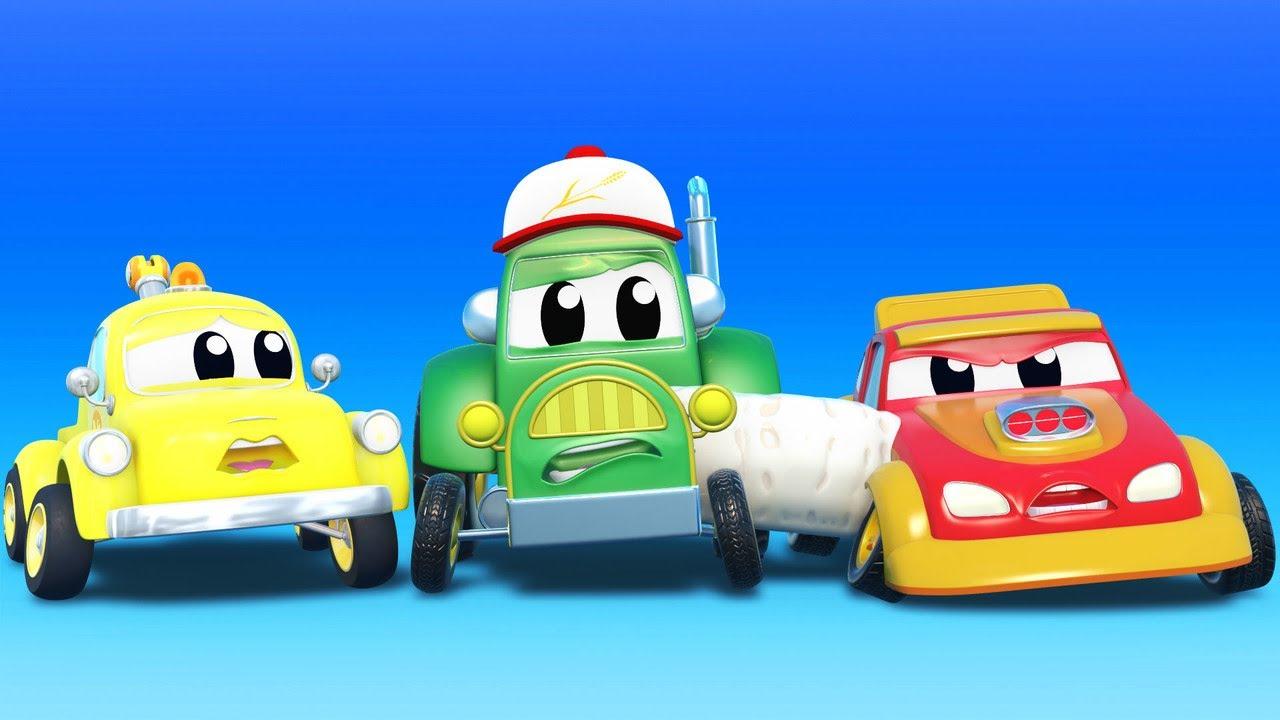 Tom el Inventor PEGA a sus AMIGOS!    InvenTom La Grua   Car City World App
