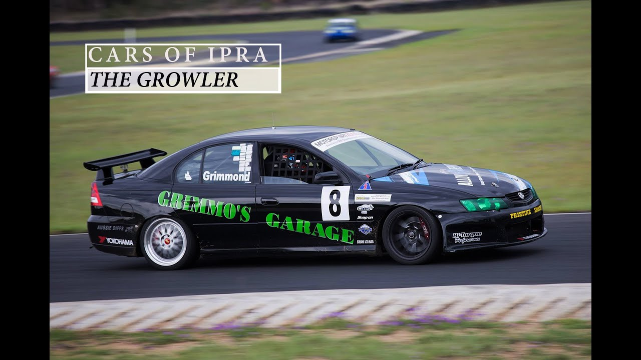 V8 Commodore Race Car | Cars Of IPRA Episode 2 | - YouTube