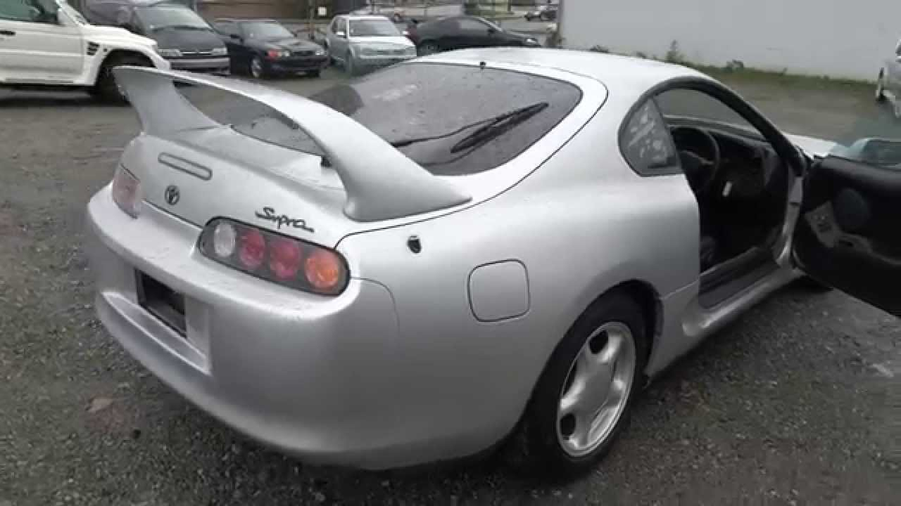 1995 toyota supra sz jdm 2jz manual for sale in vancouver youtube. Black Bedroom Furniture Sets. Home Design Ideas