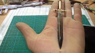 Сувенирный меч из столового ножа
