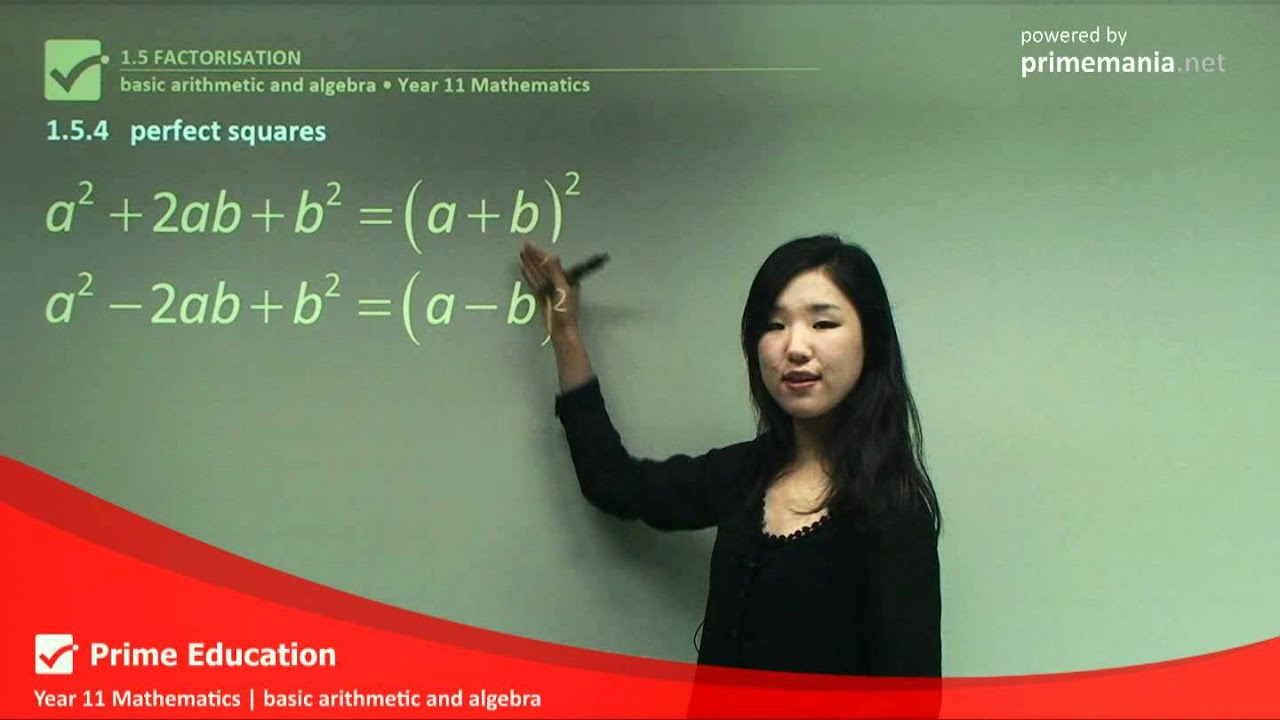 Basic Arithmetic and Algebra Preview Prime Education - YouTube