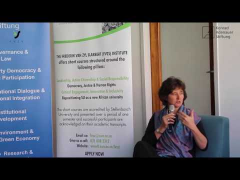 Nicky Newton-King at Discourse Café [FULL DISCUSSION]