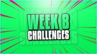 """FORTNITE BATTLE ROYALE """"WEEK 8 CHALLENGES"""" LEAKED! (SEASON 4, WEEK 8)"""