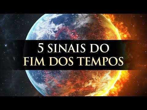 5 SINAIS DO FIM DOS TEMPOS - A VOLTA DE JESUS (Apocalipse) - Pastor Antonio Junior