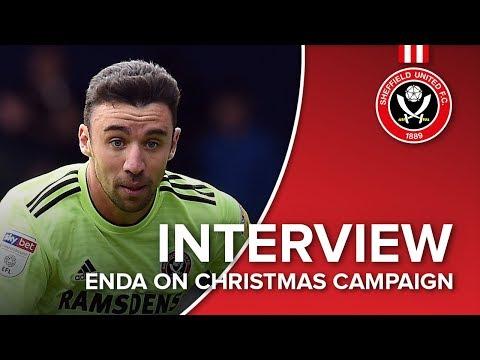 Enda Stevens on Christmas campaign