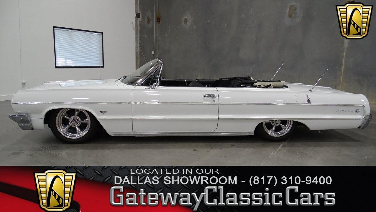 1964 Chevrolet Impala Stock #178 Gateway Classic Cars of Dallas ...