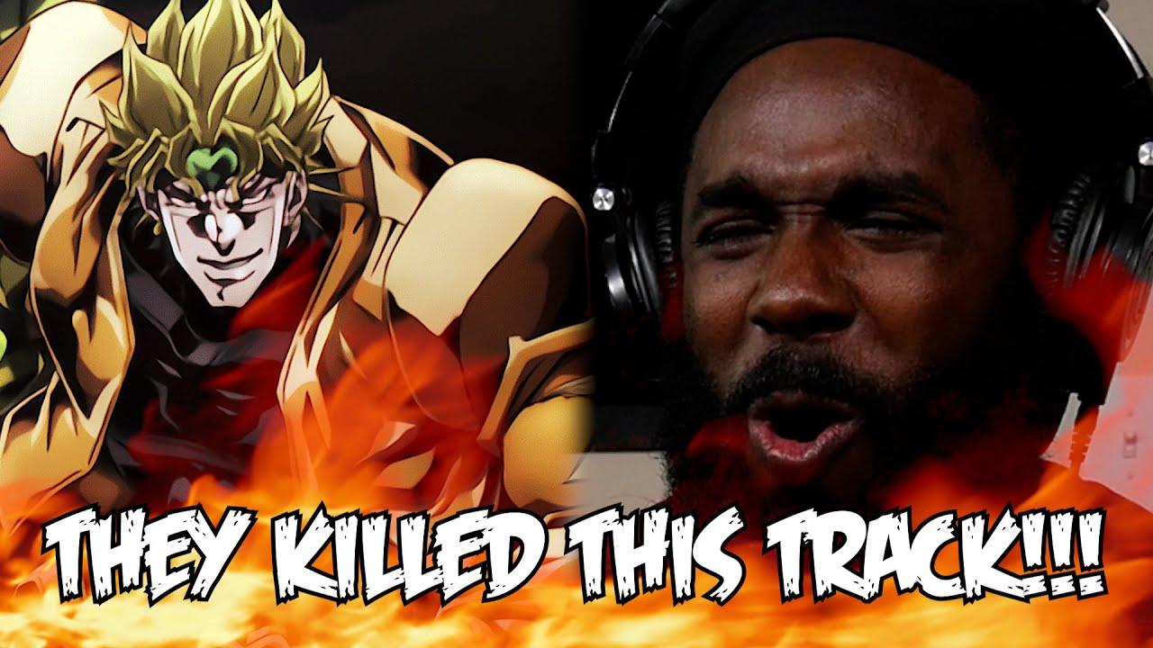 "DIO RAP REACTION!!! | ""Kono Dio Da"" | RUSTAGE Ft. The Anime Man"