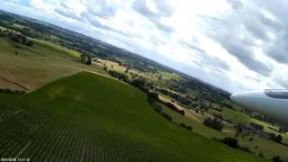 Aubel Hangflug Video