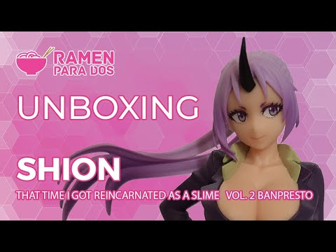 Unboxing Shion Ortherworlder Vol.2 (That time I got reincarnated as a slime)
