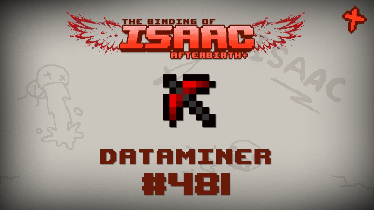 Binding of Isaac: Afterbirth+ Item guide - Dataminer