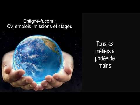 enligne-fr.com : cv, emplois, missions et stages, tous les métiers à portée de mains
