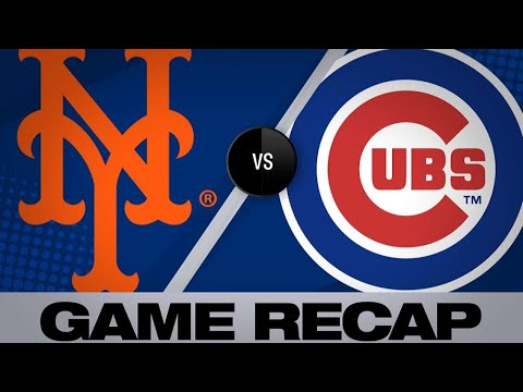 Mets score in 6 straight frames in 10-2 win   Mets-Cubs Game Highlights 6/22/19