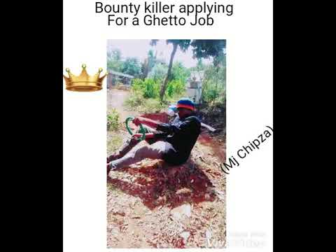 Bounty Killer applying for a Ghetto job