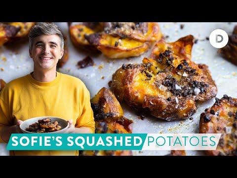 RECIPE: Sofie's Squashed Potatoes! KITCHEN HERO RETURNS!
