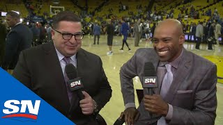 Arash Madani chats with Vince Carter about the Toronto Raptors' NBA playoffs run, what a championship would mean to the city, and what it means to Carter ...