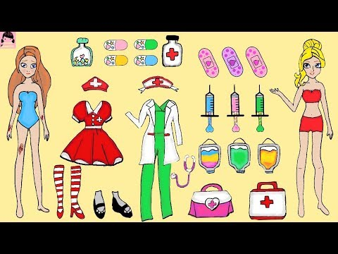 paper-dolls-hospital-for-girls-quiet-book-handmade-paper-crafts