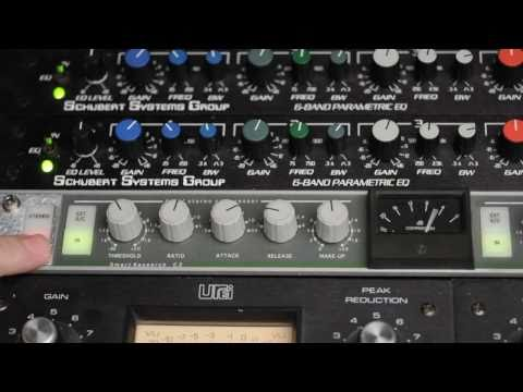Recording Studio Compressor Death Match!