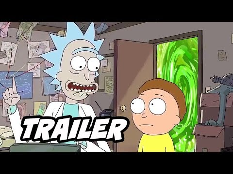 Rick And Morty Season 4 Episode 3 Trailer Breakdown And Easter Eggs