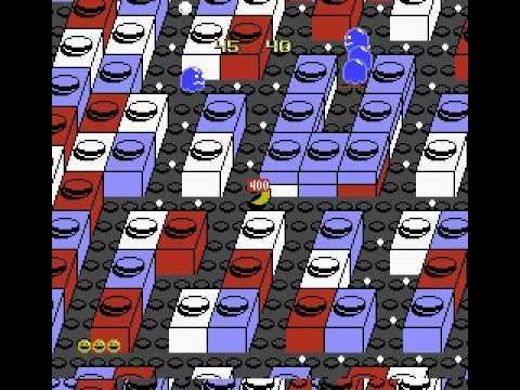 Pac-Mania (NES) - Tengen - 683 650 Points