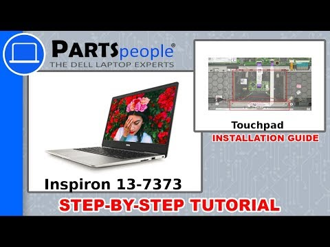 Dell Inspiron 13-7373 (P83G001) Touchpad How-To Video Tutorial