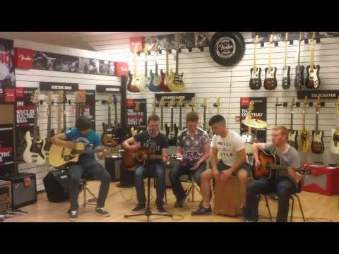 Enemy Lines Distance live at Sound Shop Tv Drogheda
