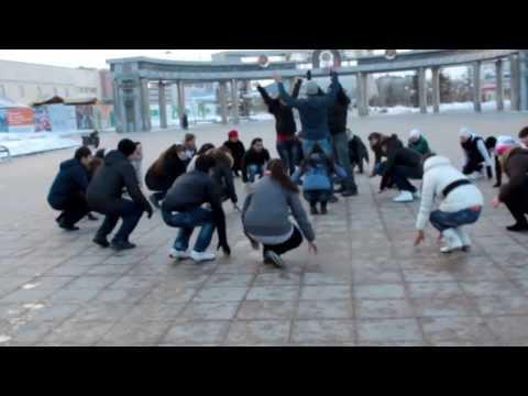 Видео: Твори добро Тюмень - Лучший танцевальный флешмоб ФМ2013