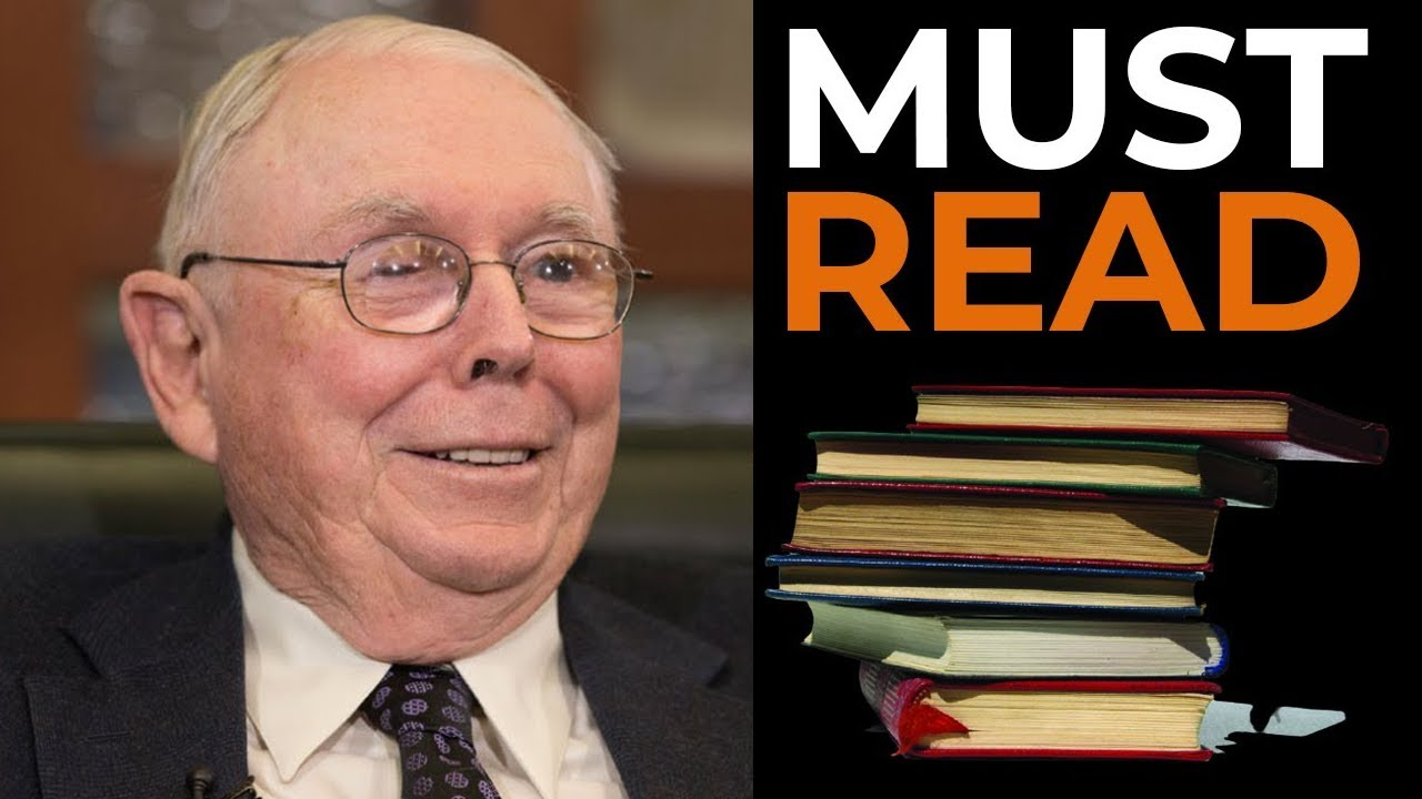 Charlie Munger: 11 Books That Made Me Millions (Must READ)