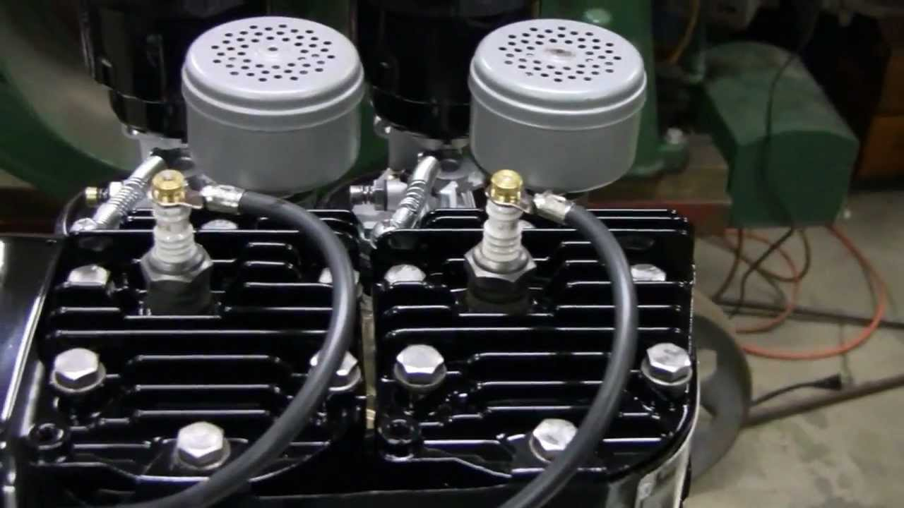 Homemade Twin Briggs Engine Project Part 8