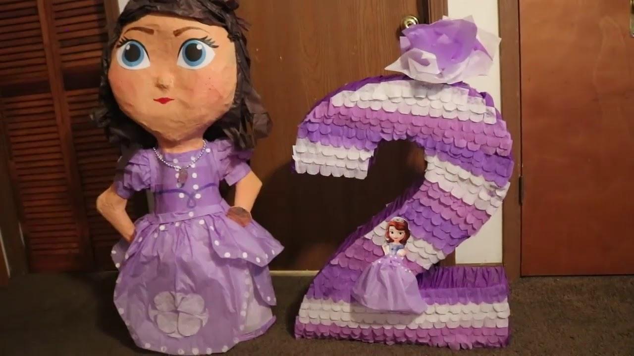 761c6df86 Piñata Princesa Sofia - YouTube