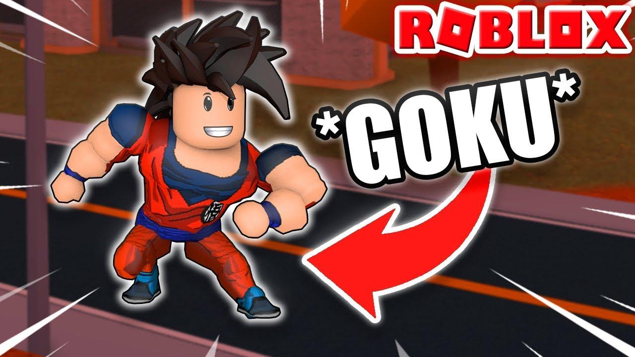 Camisa Goku Roblox Goku Ha Llegado A Jailbreak Roblox Youtube