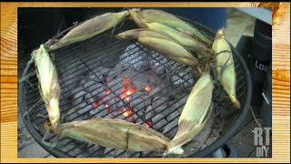 Rick Cooks!  Fresh Grilled Corn ~rick's Tips Diy