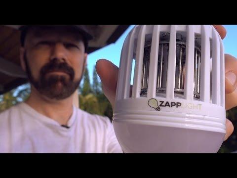 ZappLight Review: A Light Bulb Bug Zapper?