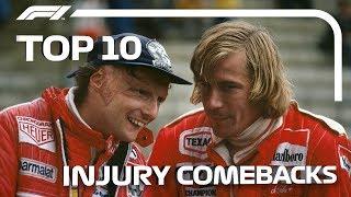 Top 10 Injury Comebacks in F1