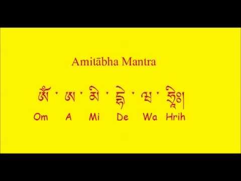 Amitabha Mantra (A Mi De Wa Hrih)