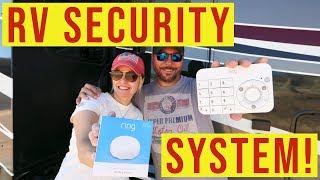 RV Security System using Ring | Full Time RV Living | Changing Lanes!