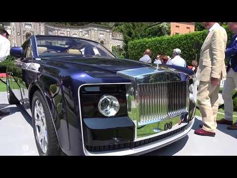 Chiếc Rolls Royce đắt nhất thế giới đẹp tuyệt trần 12,8 triệu USD | Rolls Royce Sweptail