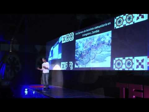 Recycling cooking oil to travel and make a green continent: Rodolfo Rada at TEDxSantiago