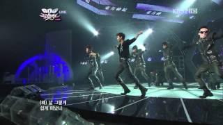 20110422 Music Bank 東方神起 Why(Keep Your Head Down)