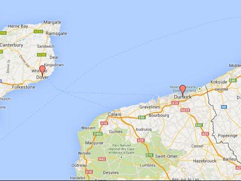 Car Ferry  Dover  Dunkirk