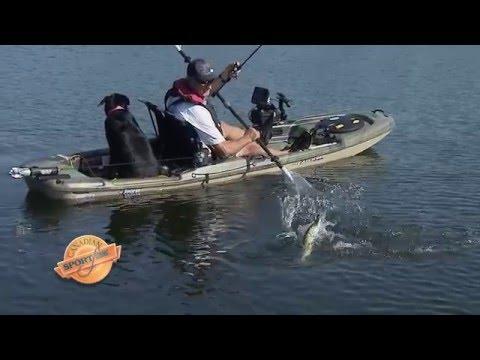 Csf 30 06 Kayak Bass & Pike, Back-Lake, ON. YouTube 4K