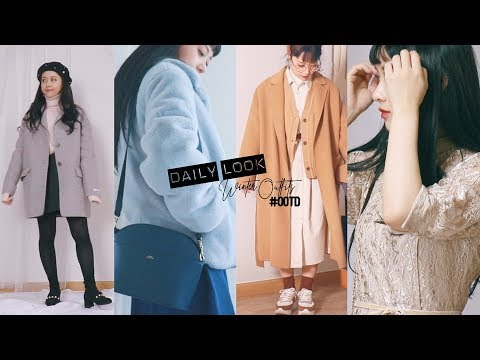 Winter Daily LOOKBOOK (feat. 155cm)    Jody 조디