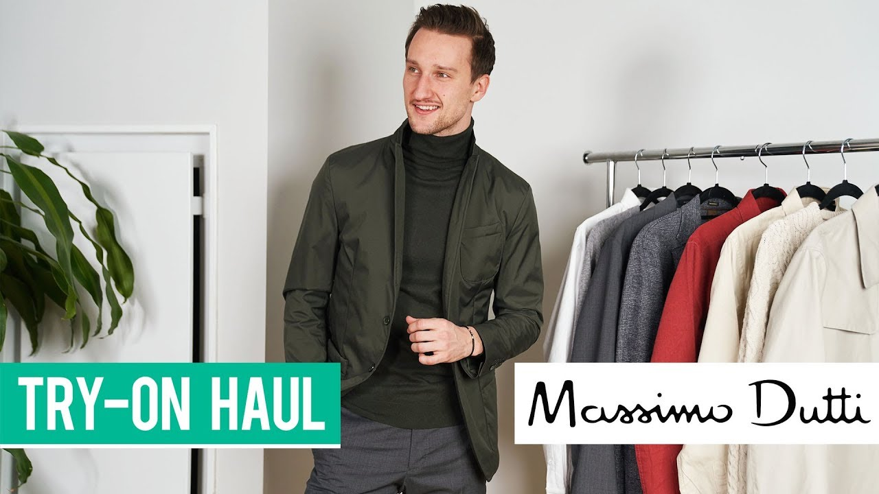 5a7a3290f Massimo Dutti Try-On Haul | Men's Fashion 2019 | Outfit Inspiration
