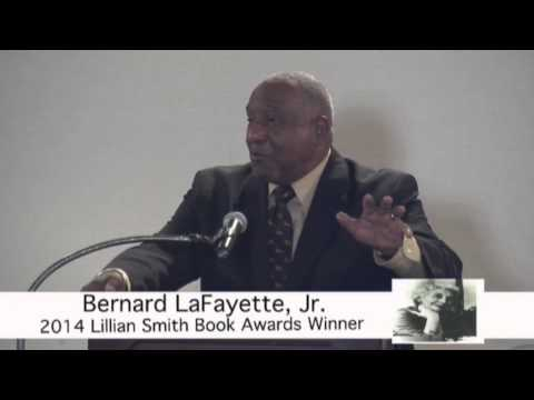 Bernard Lafayette Receives Lillian Smith Book Award for 2014