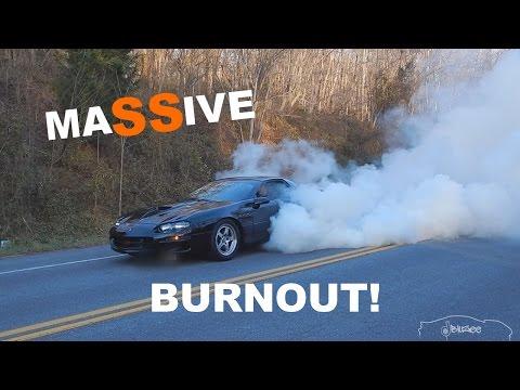 1999 Camaro SS LS1 6 Speed - SICK Burnout!