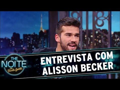 The Noite (01/06/16) - Entrevista com Alisson Becker