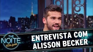 The Noite (01/06/16) - Entrevista com Alisson Becker