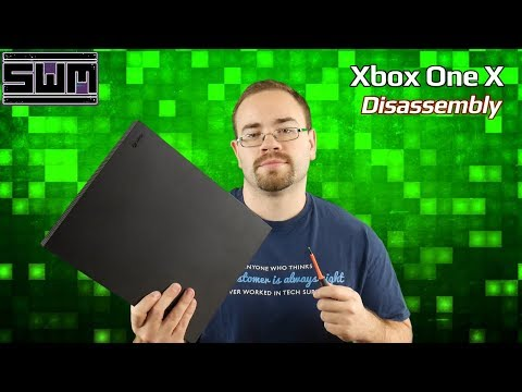 Taking Apart The Xbox One X - Tech Wave!