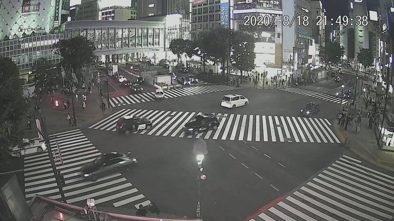 カメラ 渋谷 交差点 定点