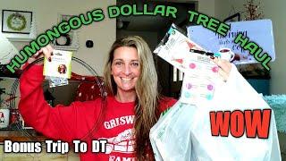 HUMONGOUS Dollar Tree Haul | AMAZING ITEMS | BONUS Trip To DT | Nov 23
