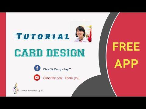 Easy design with free app on mobile   Hướng dẫn thiết kế namecard, danh thiếp trên điện thoại